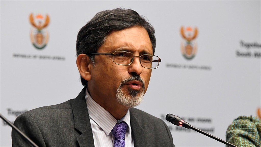 Minister of Trade, Industry and Competition Ebrahim Patel